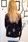 Sweter z reniferem dla dziecka - czarny  (3)