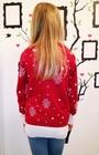 Sweter z reniferem dla dziecka - czerwony (2)