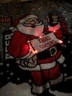 świecący świąteczny sweter z mikołajem migające LEDY (6)