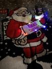 świecący świąteczny sweter z mikołajem migające LEDY (7)