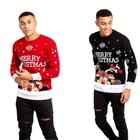 Sweter świąteczny z napisem
