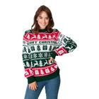 Sweter świąteczny wzór norweski kolor zielony (3)