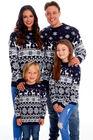 Sweter świąteczny dla dziecka w kolorze granatowym  (3)