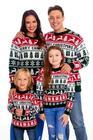 Sweter świąteczny dla dziecka w kolorze zielonym (5)