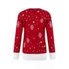 Czerwony Sweter świąteczny z reniferem (3)